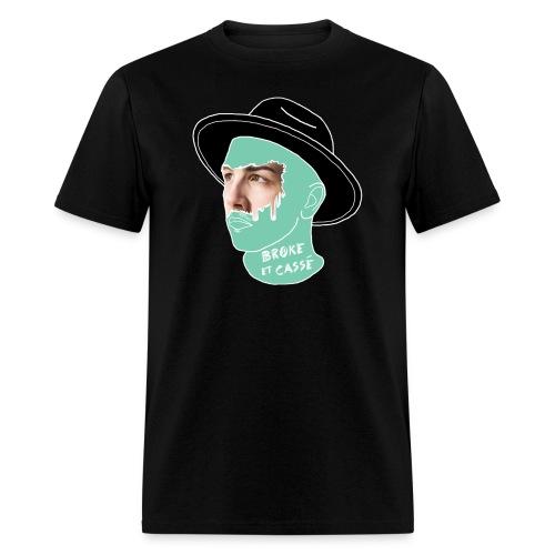 broke et cassé - Men's T-Shirt