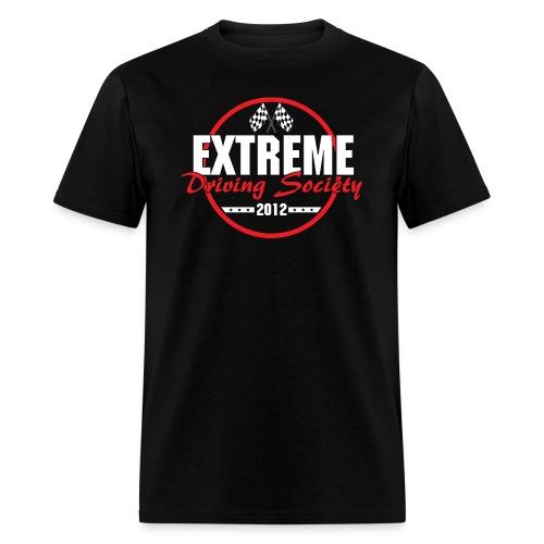 eds 2012 logo white - Men's T-Shirt