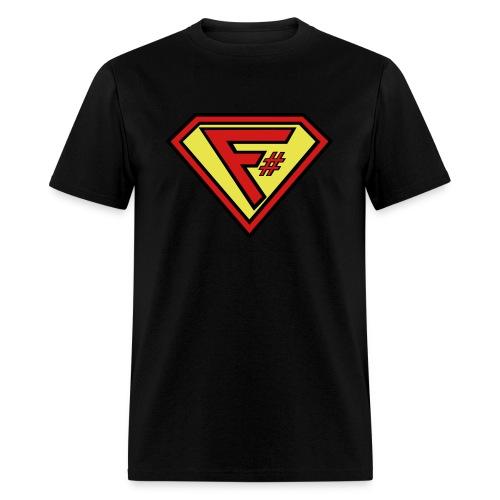 F# Hero Woman - Men's T-Shirt