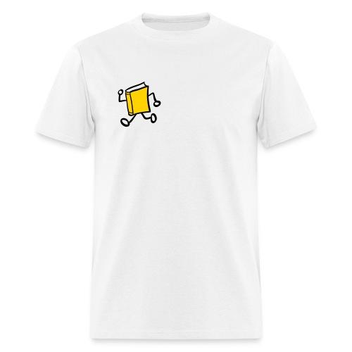 internal bally read and release url white - Men's T-Shirt