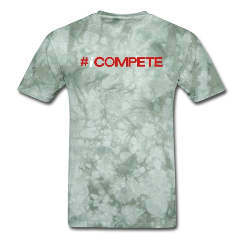 icompete_logo_final_outli - Men's T-Shirt
