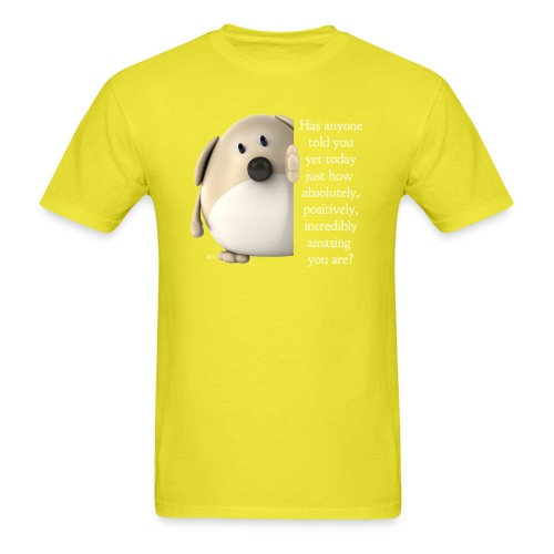 amazing dog (for dark) - Men's T-Shirt