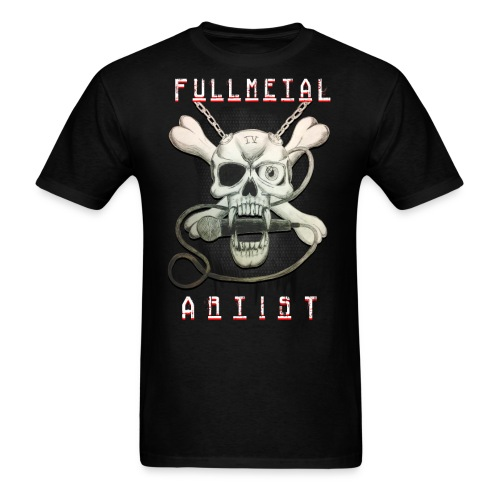 Heavy Metal FMA Skull - Men's T-Shirt