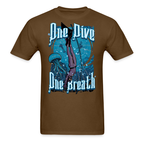 One Dive One Breath Freediving - Men's T-Shirt