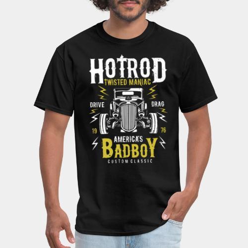hotrod classic vintage car bad boy - Men's T-Shirt