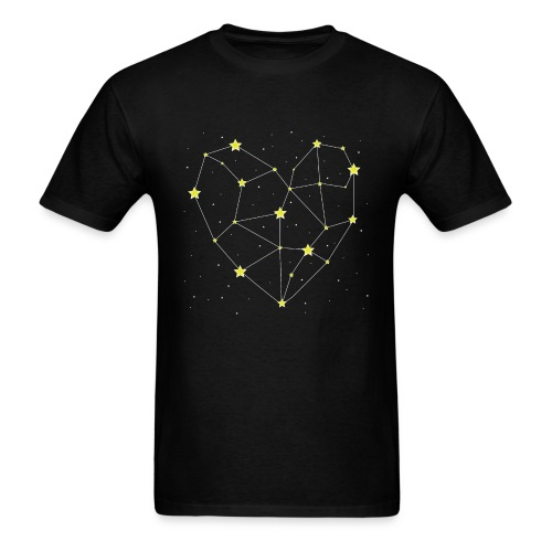 Heart in the Stars - Men's T-Shirt
