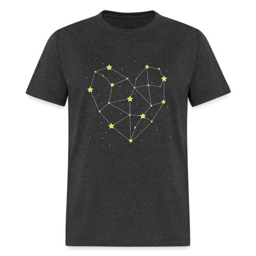 Heart in the Stars - Men's T-Shirt