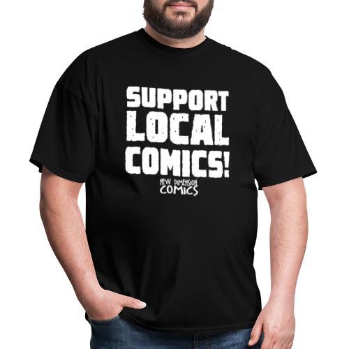 SUPPORT LOCALCOMICS! - Men's T-Shirt