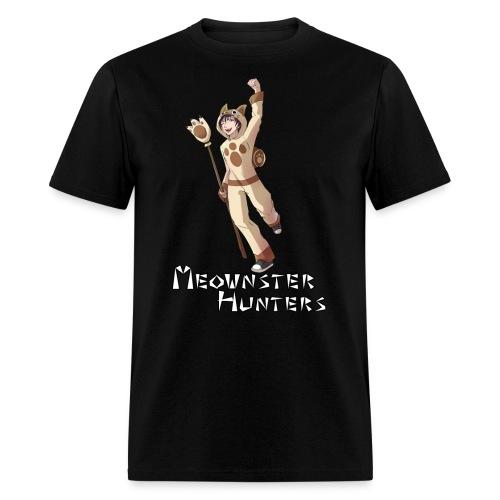Meownster Hunters - Men's T-Shirt