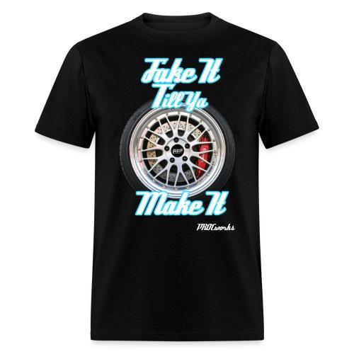 fake it gif - Men's T-Shirt