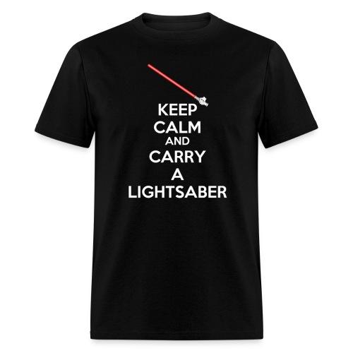kc lightsaber final - Men's T-Shirt