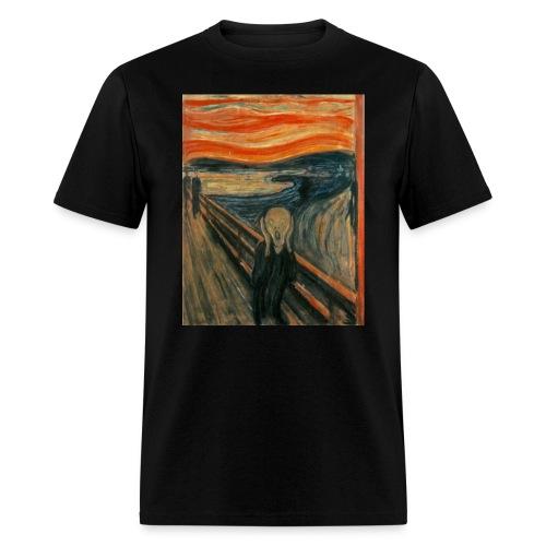 The Scream (Edvard Munch) - Men's T-Shirt
