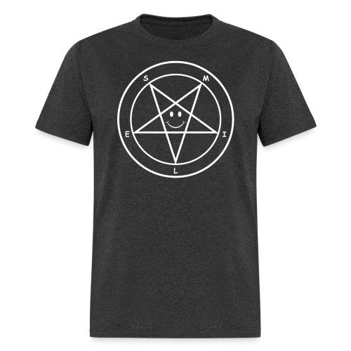 Smile Pentagram - Men's T-Shirt