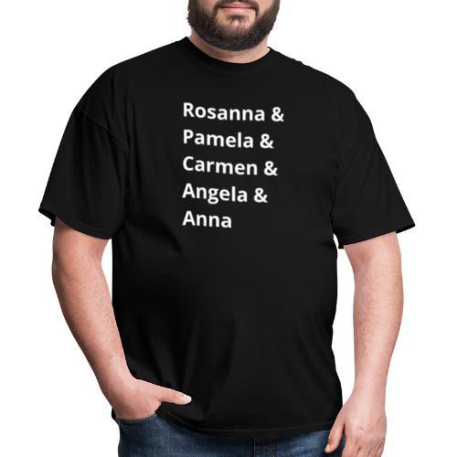 Toto Girls (White Text) - Men's T-Shirt