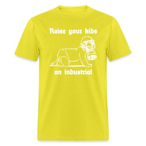 Industrial Baby (white) - Men's T-Shirt