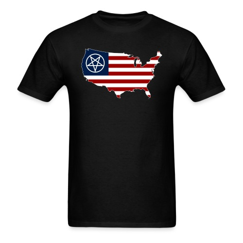 United Satanic America - Men's T-Shirt