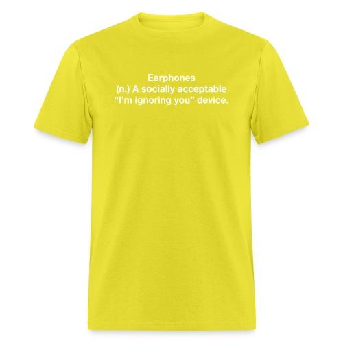 EPH ignoring white - Men's T-Shirt