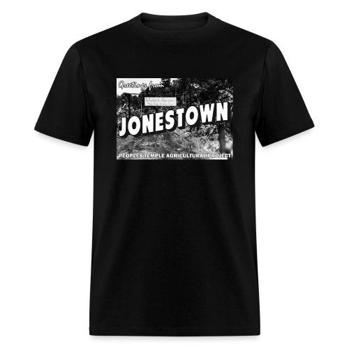 Jonestown Postcard - Men's T-Shirt