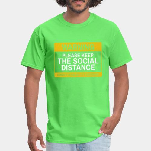 keep social distance - Men's T-Shirt