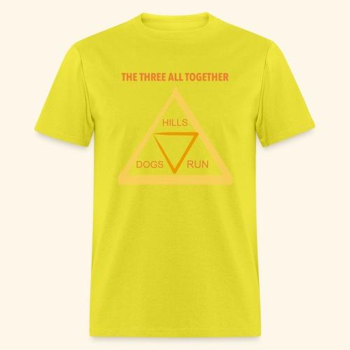 Run4Dogs Triangle - Men's T-Shirt