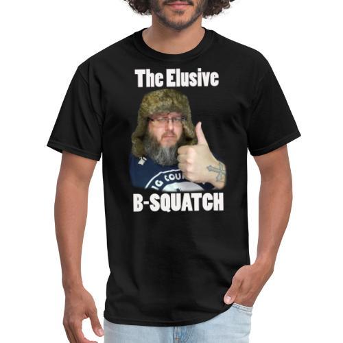 The Elusive B-Squatch - Men's T-Shirt