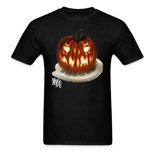 Piano Pumpkin - Men's T-Shirt