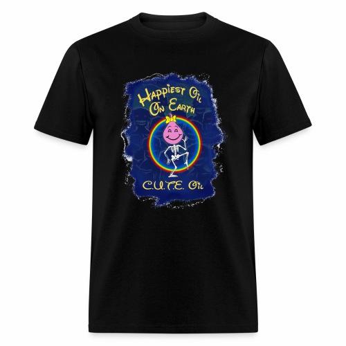 Cute Oil Dark - Men's T-Shirt