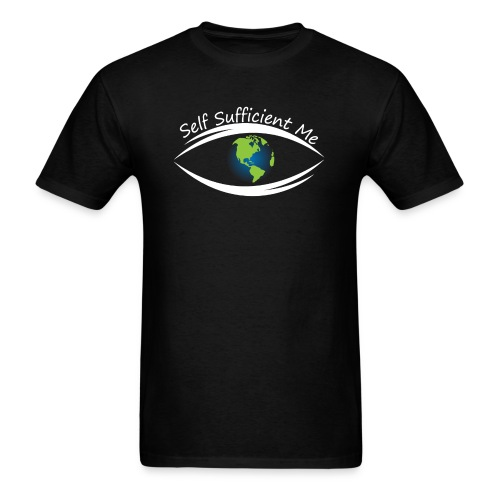 Self Sufficient Me Logo Large - Men's T-Shirt
