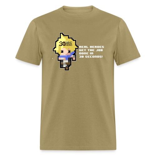 Knight ME v EVIL (White logo) - Men's T-Shirt