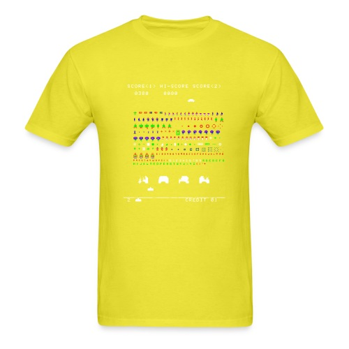 Robotron Invaders - Men's T-Shirt