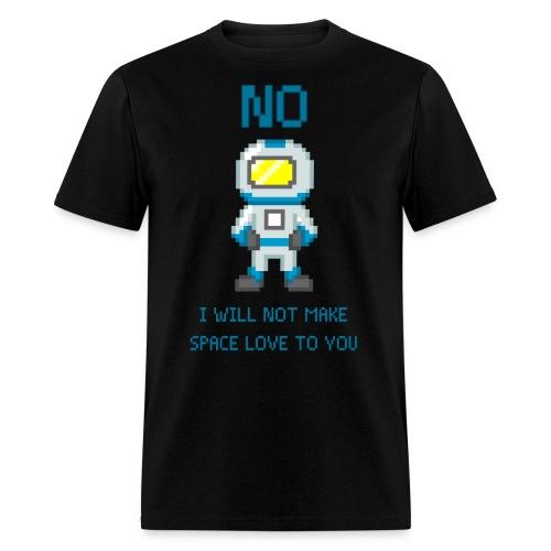 Space Love - Men's T-Shirt