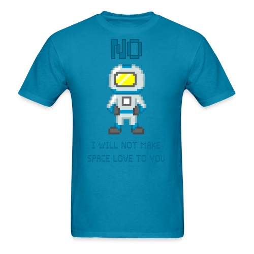 Space Love - Men's T-Shirt