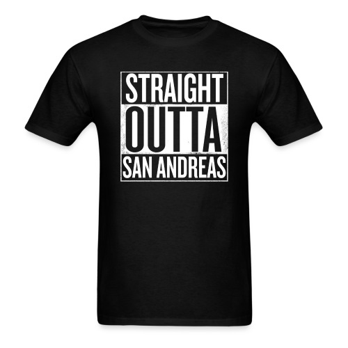 Straight Outta San Andreas GTA - Men's T-Shirt