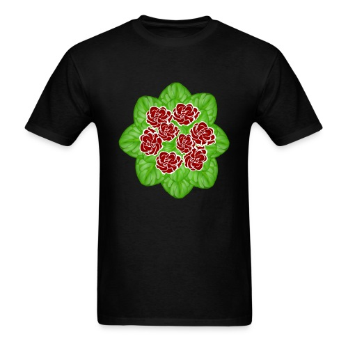 African Violet Graphic - Men's T-Shirt
