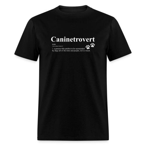 caninetrovert - Men's T-Shirt