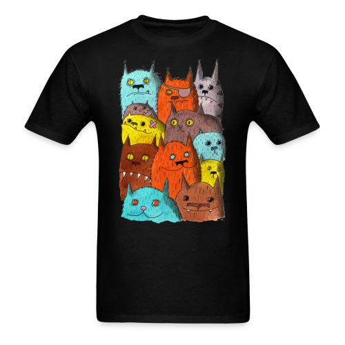 The Cats of Meow Tyson B - Men's T-Shirt