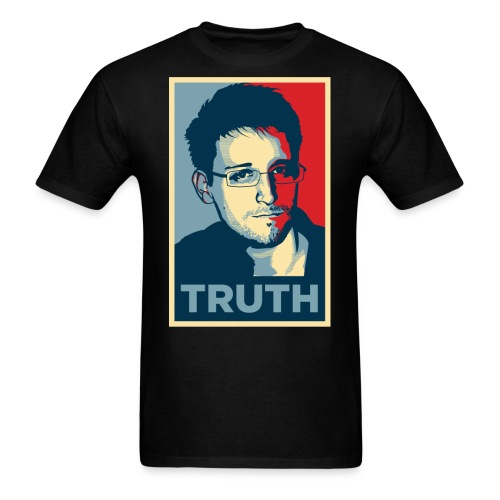 Snowden Truth jpg - Men's T-Shirt