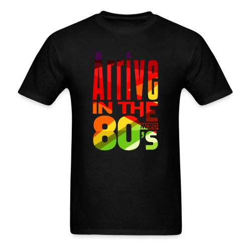 Funk Nation Arrive in the 80s - Men's T-Shirt
