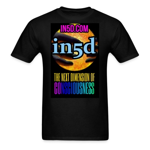 In5D Next Dimension Of Consciousness - Men's T-Shirt