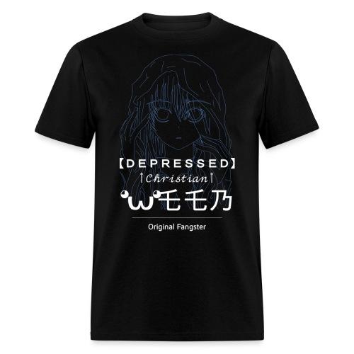 Depressed Christian Weeb - Men's T-Shirt