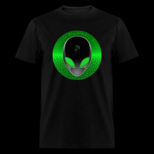 Psychedelic Alien Dolphin Green Cetacean Inspired - Men's T-Shirt