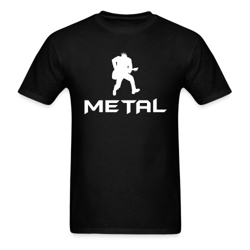 Metal White - Men's T-Shirt