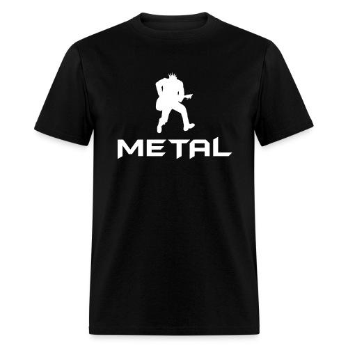 Metal White - Men's T-Shirt