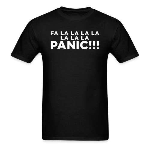 Funny ADHD Panic Attack Quote - Men's T-Shirt