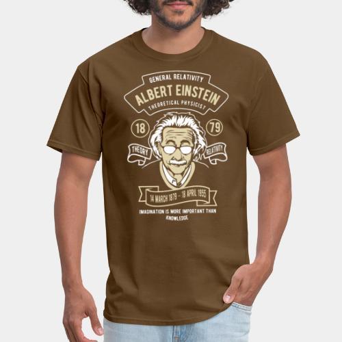 einstein albert relativity - Men's T-Shirt