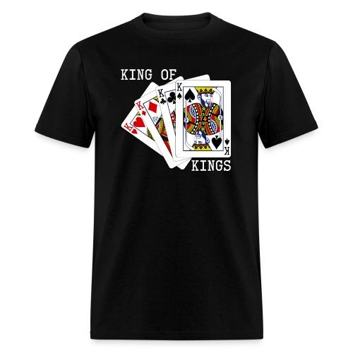 kingofkings white - Men's T-Shirt