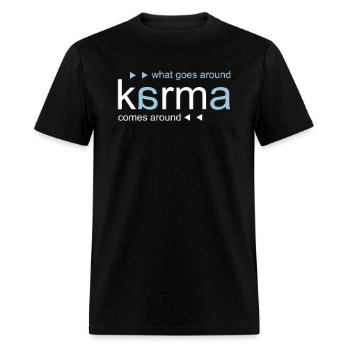 Karma Blue - Men's T-Shirt