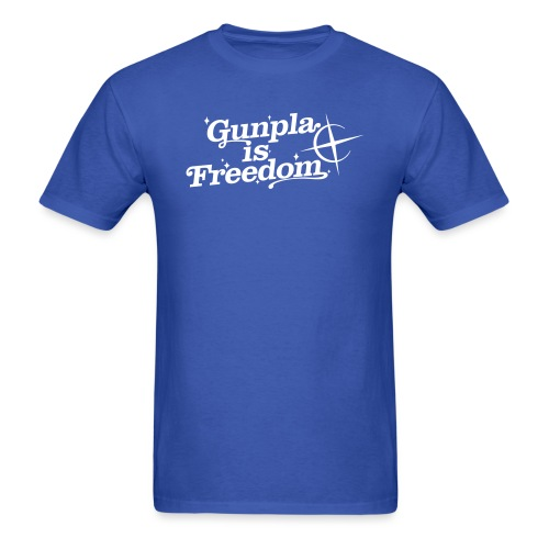 Freedom Men's T-shirt — Banshee Black - Men's T-Shirt