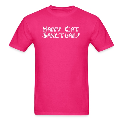 Happy Cat Sanctuary logo - Men's T-Shirt