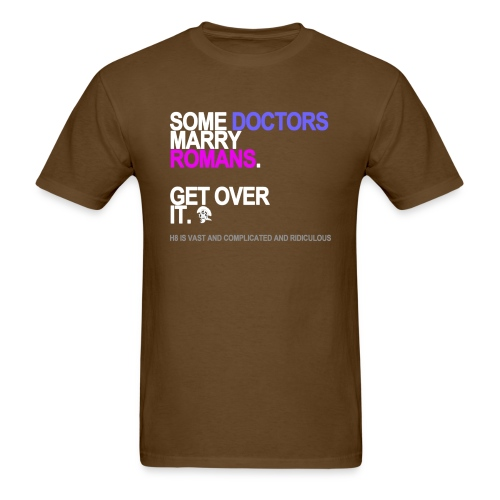 some doctors marry romans black shirt - Men's T-Shirt